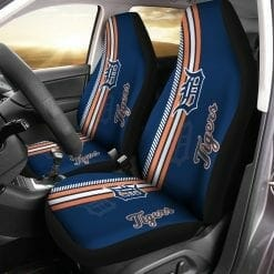 MLB Detroit Tigers Pair of Car Seat Covers