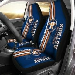 MLB Houston Astros Pair of Car Seat Covers