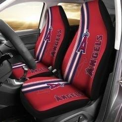 MLB Los Angeles Angels Pair of Car Seat Covers