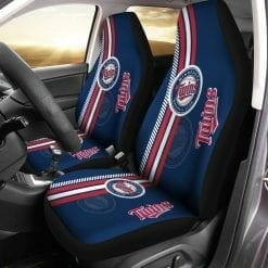 MLB Minnesota Twins Pair of Car Seat Covers