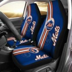 MLB New York Mets Pair of Car Seat Covers