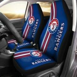 MLB Texas Rangers Pair of Car Seat Covers