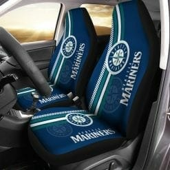 MLB Seattle Mariners Pair of Car Seat Covers