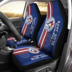 MLB Toronto Blue Jays Pair of Car Seat Covers