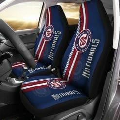 MLB Washington Nationals Pair of Car Seat Covers