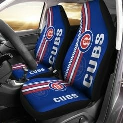 MLB Chicago Cubs Pair of Car Seat Covers
