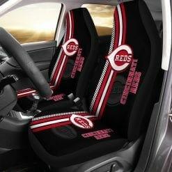 MLB Cincinnati Reds Pair of Car Seat Covers