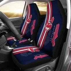 MLB Cleveland Indians Pair of Car Seat Covers