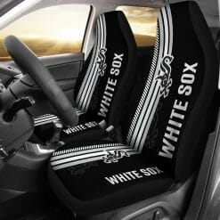 MLB Chicago White Sox Pair of Car Seat Covers