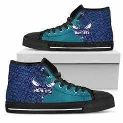 NBA Charlotte Hornets High Top Shoes