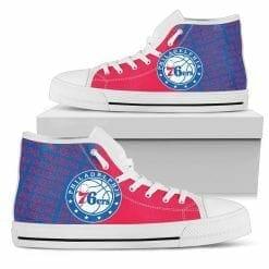 NBA Philadelphia 76ers High Top Shoes