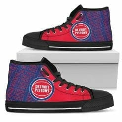 NBA Detroit Pistons High Top Shoes