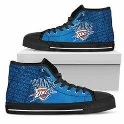 NBA Oklahoma City Thunder High Top Shoes