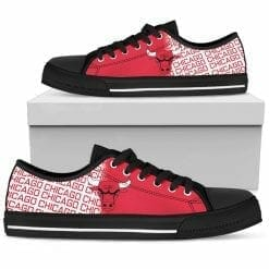 NBA Chicago Bulls Low Top Shoes