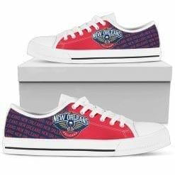 NBA New Orleans Pelicans Low Top Shoes V2