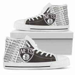 NBA Brooklyn Nets High Top Shoes