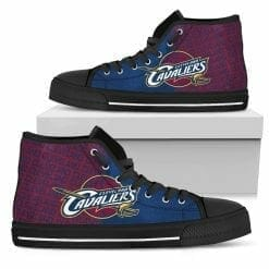 NBA Cleveland Cavaliers High Top Shoes