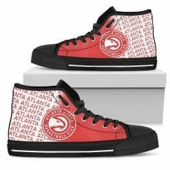 NBA Atlanta Hawks High Top Shoes
