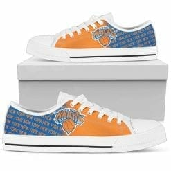 NBA New York Knicks Low Top Shoes