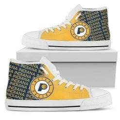 NBA Indiana Pacers High Top Shoes