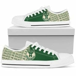 NBA Milwaukee Bucks Low Top Shoes