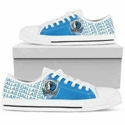 NBA Dallas Mavericks Low Top Shoes