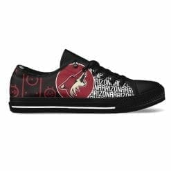 NHL Arizona Coyotes Low Top Shoes