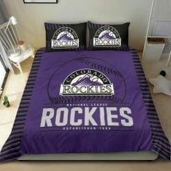 MLB Colorado Rockies Bedding Set