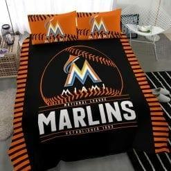 MLB Miami Marlins Bedding Set