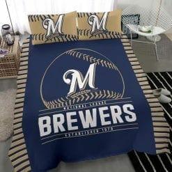 MLB Milwaukee Brewers Bedding Set