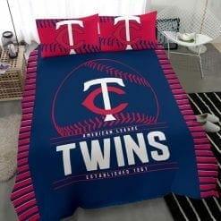 MLB Minnesota Twins Bedding Set