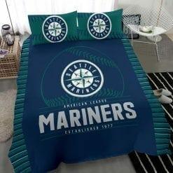 MLB Seattle Mariners Bedding Set