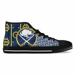 NHL Buffalo Sabres High Top Shoes