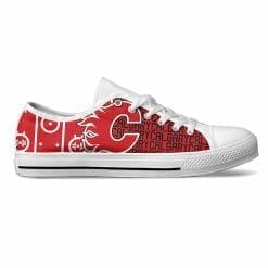 NHL Calgary Flames Low Top Shoes