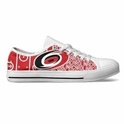 NHL Carolina Hurricanes Low Top Shoes