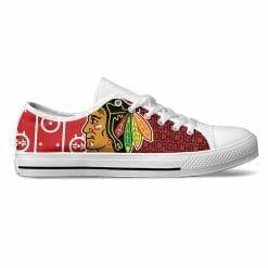 NHL Chicago Blackhawks Low Top Shoes