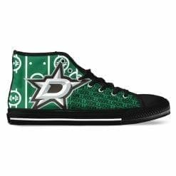 NHL Dallas Stars High Top Shoes