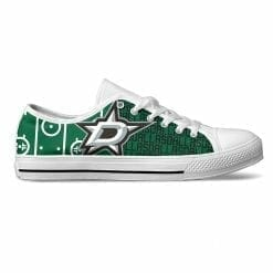 NHL Dallas Stars Low Top Shoes