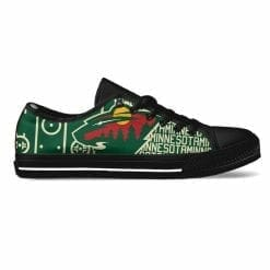 NHL Minnesota Wild Low Top Shoes