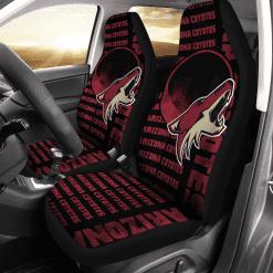 NHL Arizona Coyotes Pair of Car Seat Covers