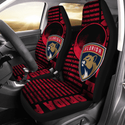 NHL Florida Panthers Pair of Car Seat Covers