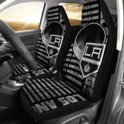 NHL Los Angeles Kings Pair of Car Seat Covers