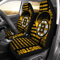 NHL Boston Bruins Pair of Car Seat Covers