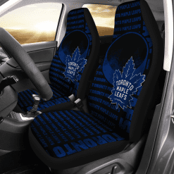 NHL Toronto Maple Leafs Pair of Car Seat Covers