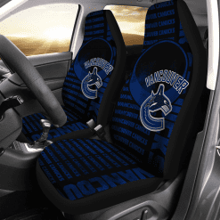 NHL Vancouver Canucks Pair of Car Seat Covers