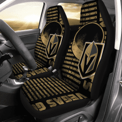 NHL Vegas Golden Knights Pair of Car Seat Covers