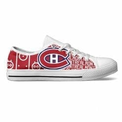 NHL Montreal Canadiens Low Top Shoes