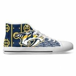 NHL Nashville Predators High Top Shoes