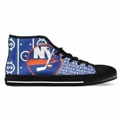 NHL New York Islanders High Top Shoes