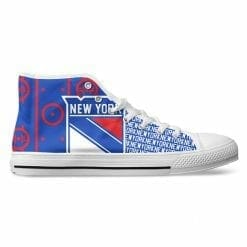 NHL New York Rangers High Top Shoes